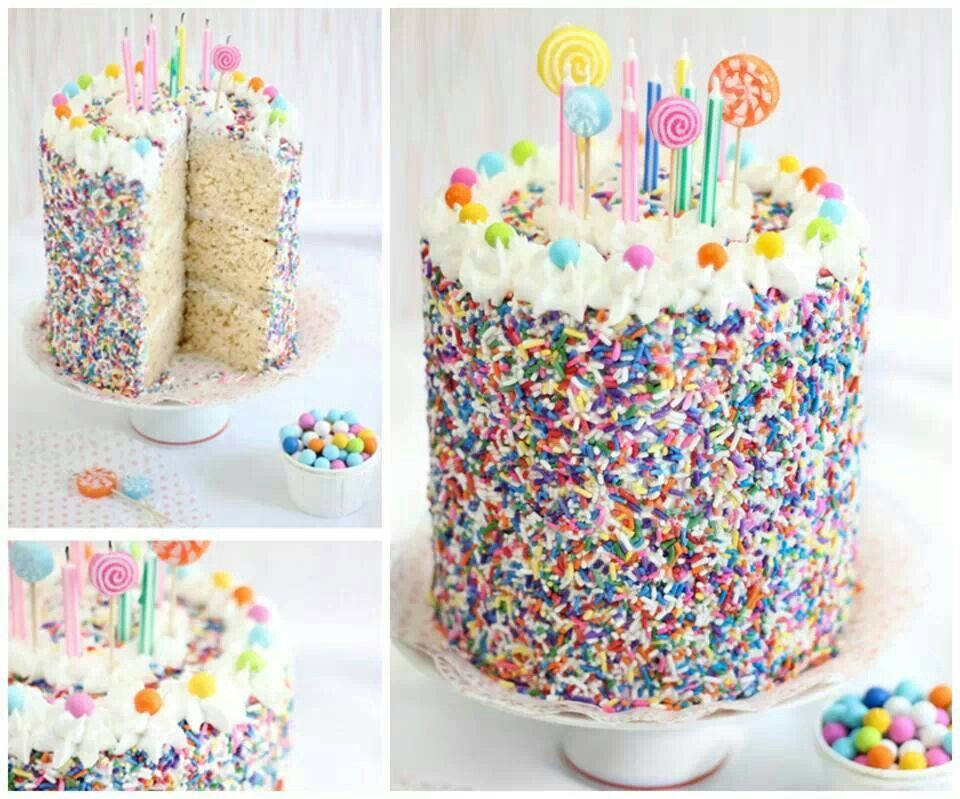 Rice Crispy Cake With Images Amazing Cakes Party Cakes