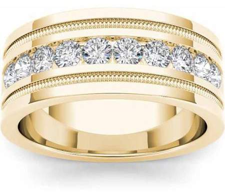 Jewelry Mens Diamond Wedding Bands Wedding Bands Gold Bands