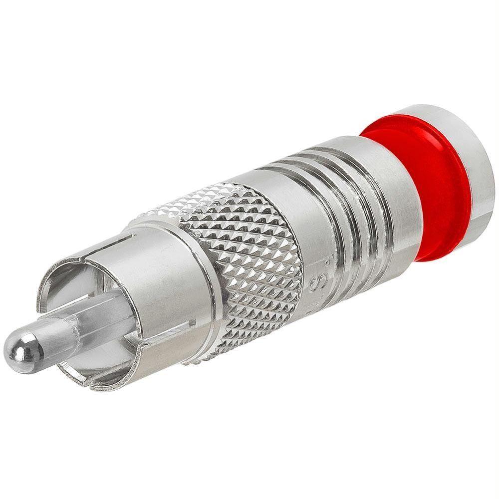 Platinum Tools 18061 Sealsmart Compression Rca Connectors
