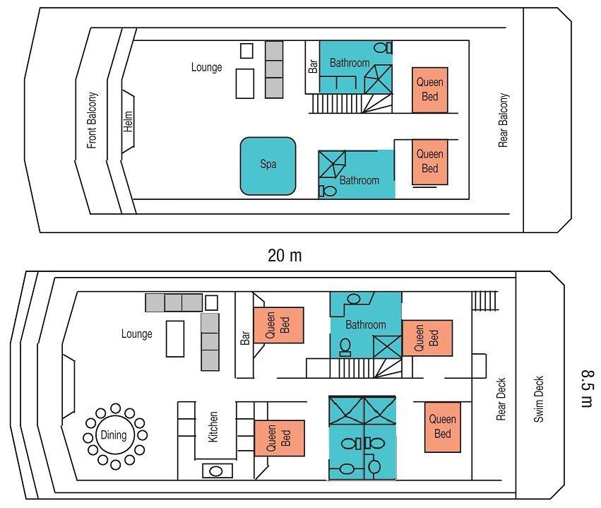 6 lower floor plan 20m x 85m