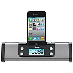 For the punctual dad, get him the iHome® iP16 Portable Alarm Clock Stereo System, only $39.99, this Father's Day #productenengadgets