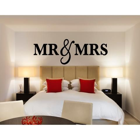 Mr U0026 Mrs Wall Signs KING SIZE. Gifts For NewlywedsRecipes For NewlywedsBedroom  DecorBedroom ...