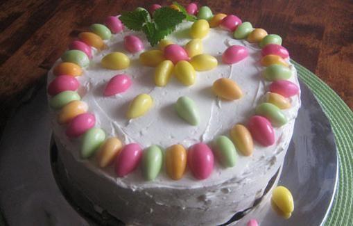 Dessert for the Easter dinner.