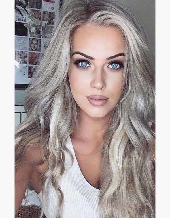 Hair Colors Look Natural And Really Elegant Hair Coloring Natural
