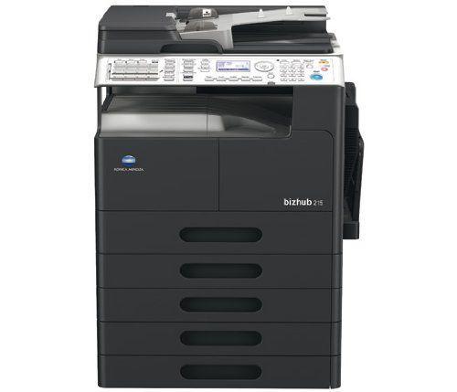 Konica Minolta Bizhub 215 Copier Printer Scanner With Images