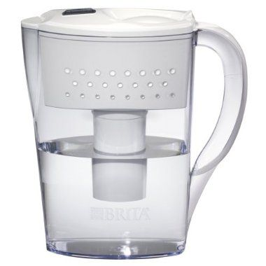 For The Kitchen Brita Quot Space Saver Quot Water Pitcher 6