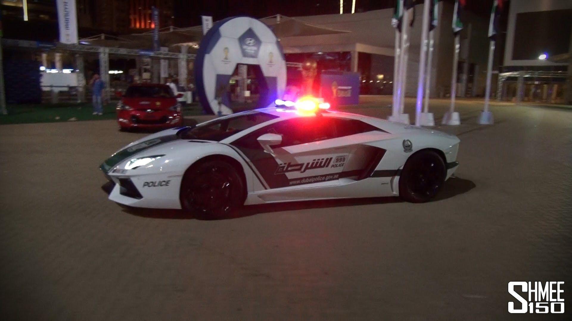 Dubai Police Supercars in Action Brabus B63S, Aventador