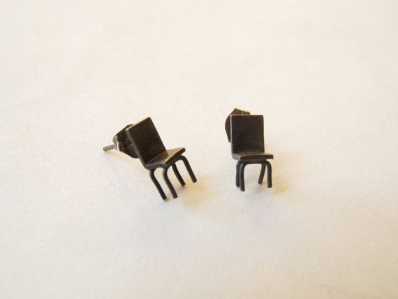 Tiny Chair Stud Earring Stud Earrings Earrings Accessories