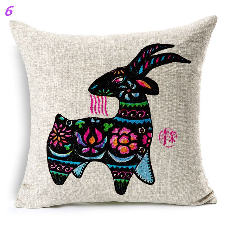 Buy Maiyubo Ethnic Cushion Nordic Style Home African Bicycle Cushions  Floral Women Linen Cushion Decorative Pillow for Sofa PC329 at  ethnolive.com! 3f4f66627