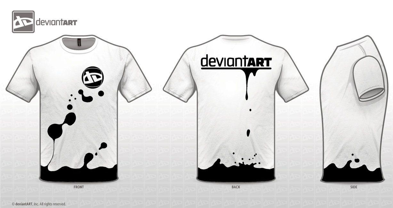 95185ed7 splash dA t-shirt by Keight8 on deviantART | tee inspirations | T ...
