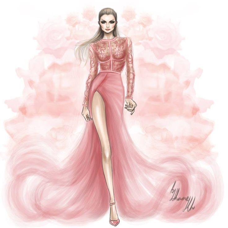 laminas figurin de moda ACUARELA - Buscar con Google   Perfumes ...