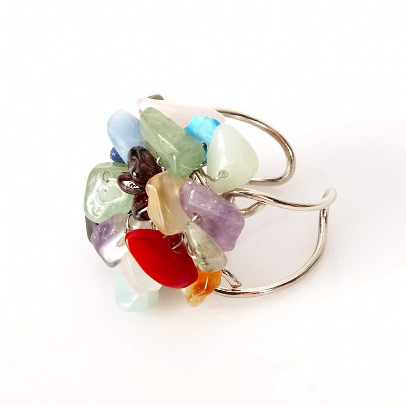 multicolored adjustable wire ring | Jewelry Inspiration | Pinterest ...