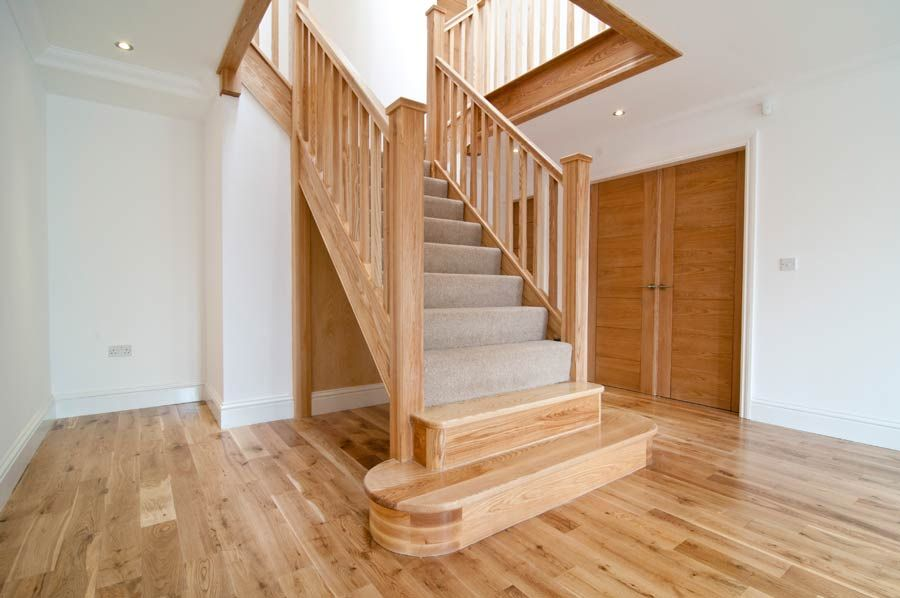 Best Ash Laminate Floor Ash Stained Stair Google Search 640 x 480
