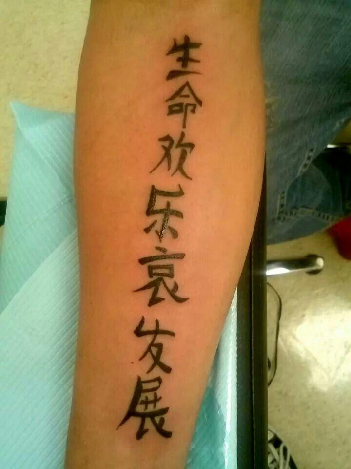 Chinese Letters Forearm Artist Renegade 678 481 5369 Letras Chinas Tatuajes Tatoo