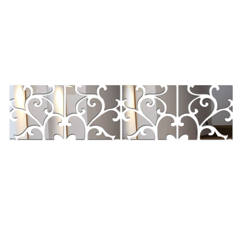 New D Mirror Wall Stickers Acrylic Sticker Adesivo De Parede - Butterfly wall decals 3daliexpresscombuy d butterfly wall decor wall sticker