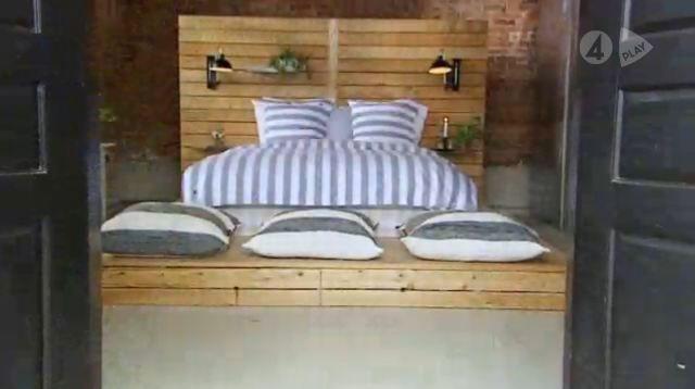"Bed from Swedish tv program""Sommar med Ernst"" Bedroom Sovrum Pinterest Sovrum och Inredning"