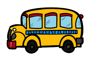 free school bus clipart borders clipart and fonts oh my rh pinterest com