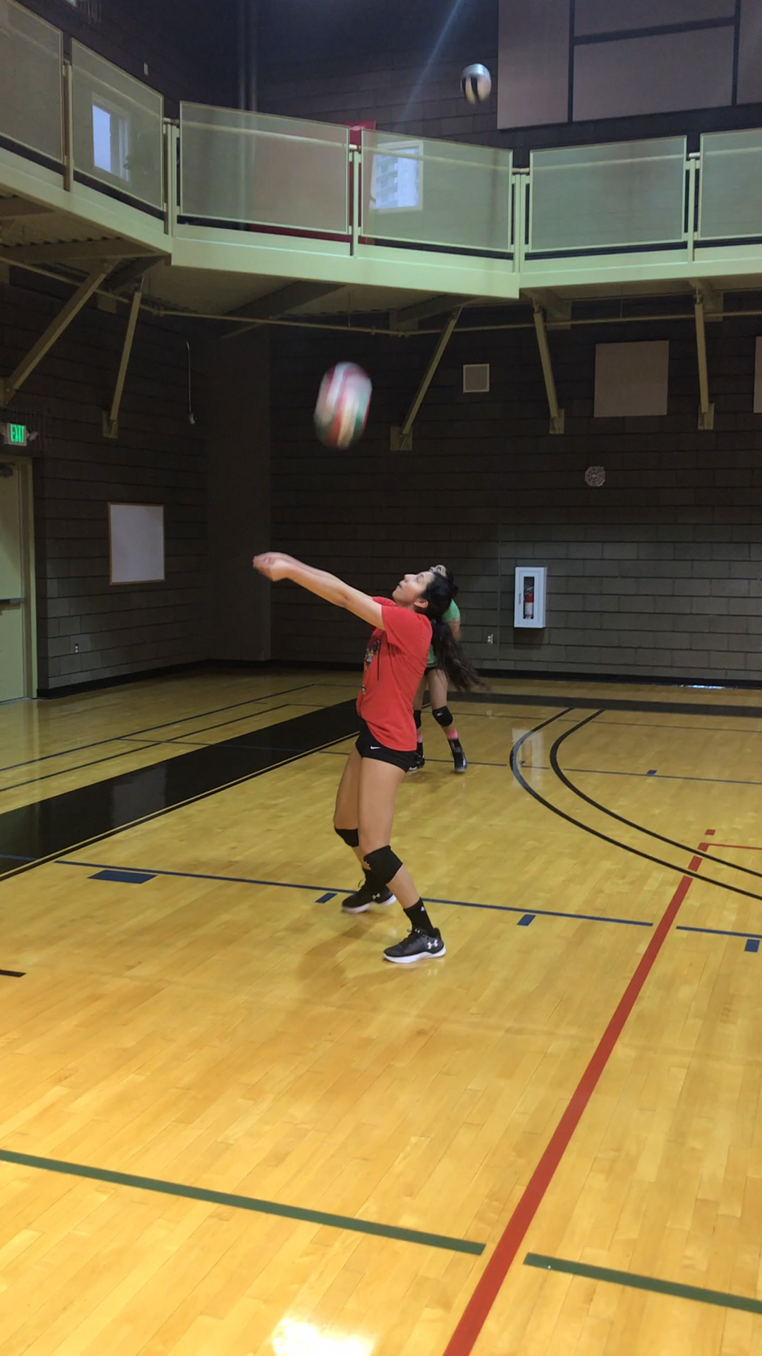 2 Volleyball Passing Drills How To Get Better At Passing In Volleyball Volleyball Workouts Volleyball Tryouts Volleyball Passing Drills
