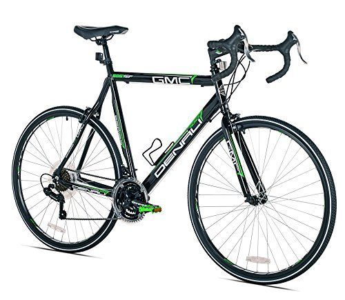 GMC Denali Road Bike, 700c, Black/Green, Small/48cm Frame //Price: $218.39 & FREE Shipping // #hashtag4