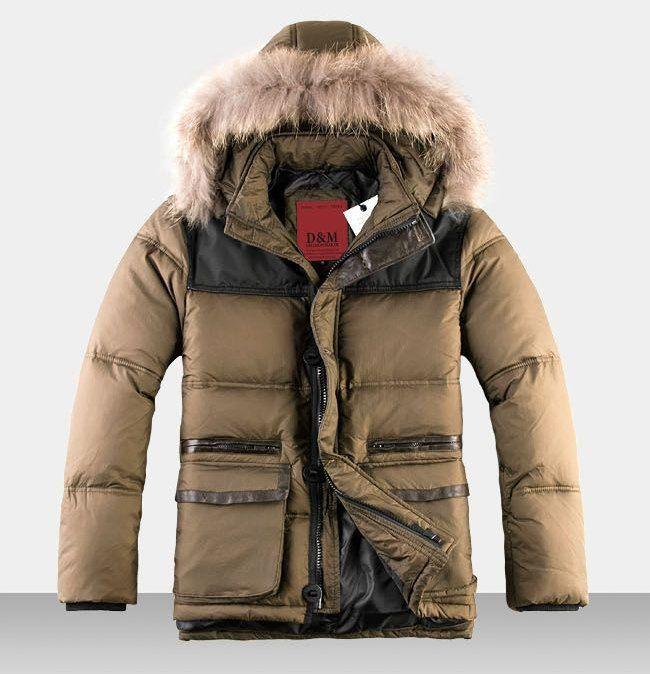 Mens parka winter coats