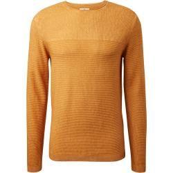 Photo of Strickpullover für Herren von Tom Tailor mit einer Mischung aus Texturen, gelb, einfarbig, Größe xxl Tom TailorTom Tailor