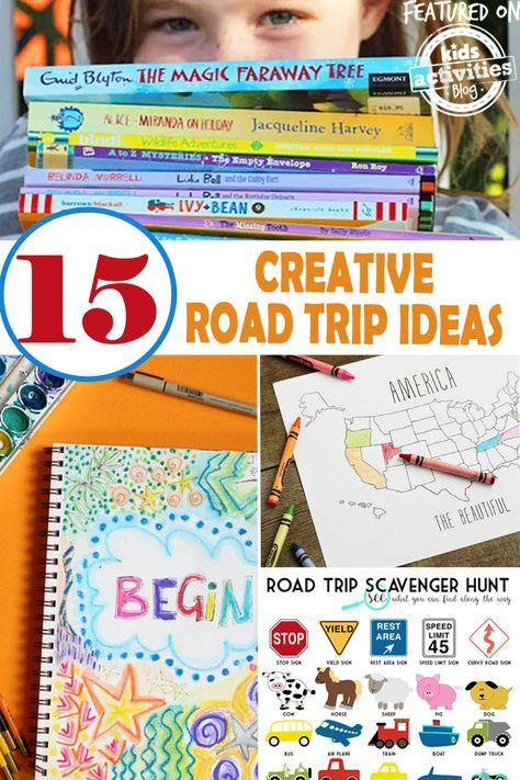 Road trips are exciting because you and your family are headed to an adventure, but road trips can be very long. Here are some creative road trip ideas for the kids! So they can have fun no matter how far the destination is!