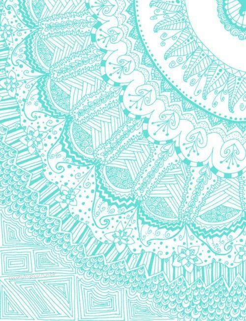 Leaves Brown Color Doodle Wallpaper Seamless Pattern Retro Design