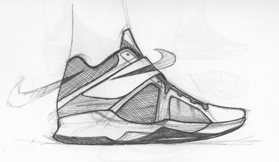 Leo Chang's Nike Zoom KD IV Sneaker Sketch | Sole Collector