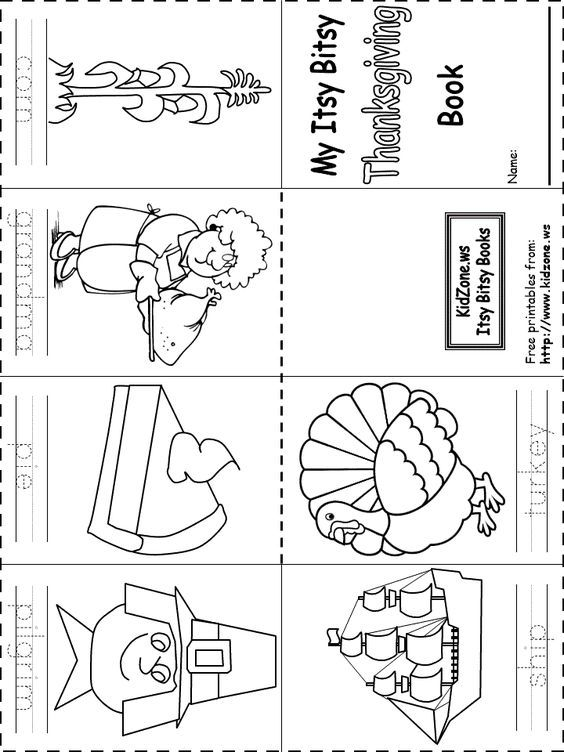 Itsy Bitsy Book Thanksgiving Thanksgiving Worksheets Thanksgiving Kindergarten Thanksgiving Books