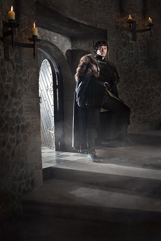 The White Queen | James Frain as Lord Warwick.  I think he plays sexy evil better than almost anyone else on the BBC. Mmmmmmm.....