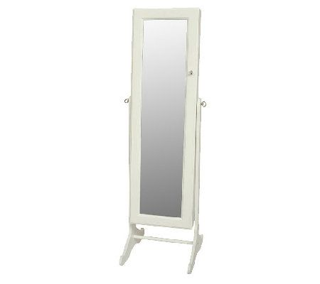 Mirror Jewellery Cabinet Jewelry, Gold Silver Safekeeper Mirrored Jewelry Cabinet By Lori Greiner