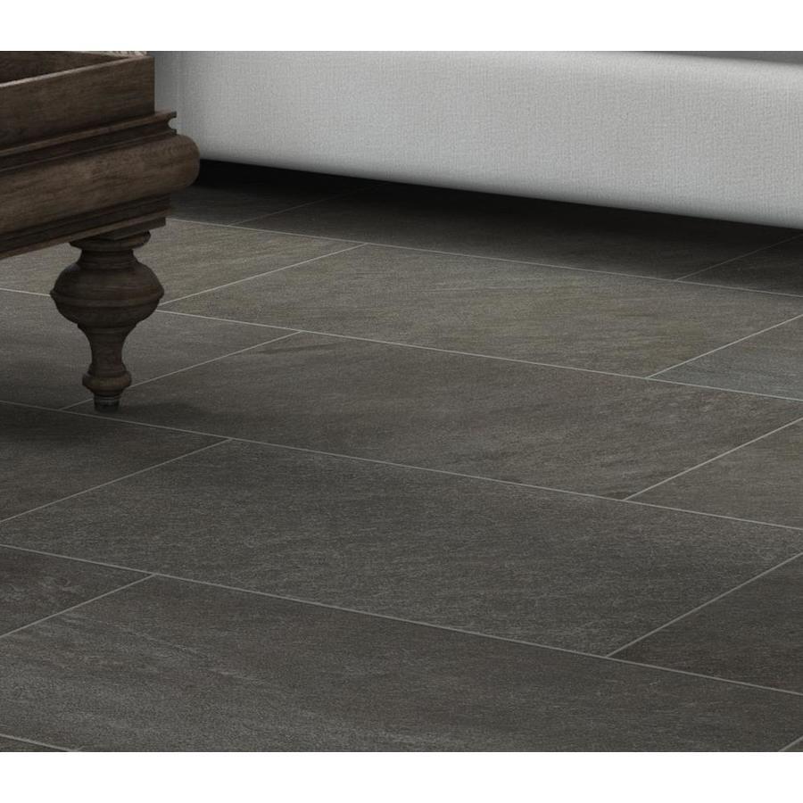 Like The Tile Pattern Galvano Charcoal Porcelain Tile 12 X 24