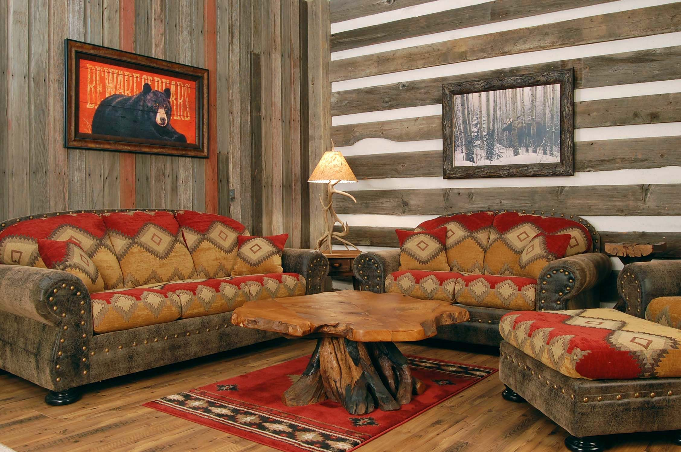 southwest living room furniture. Western Living Room With Mexican Styled Sofas And Wooden Coffey Table Rustic Appearance Also Stone Armaments On The Wall Southwest Furniture G