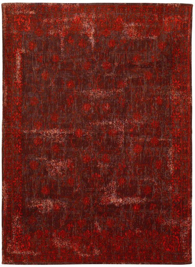 Klassicher Orient #Teppich Muster gefärbt gewebt #rotbraun - wohnzimmer rot braun