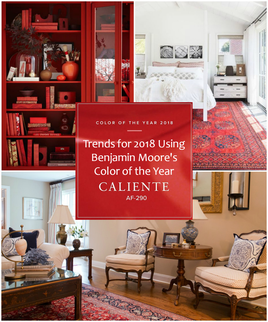Benjamin Moore Colors For Your Living Room Decor: Color Of The Year: Benjamin Moore's Caliente