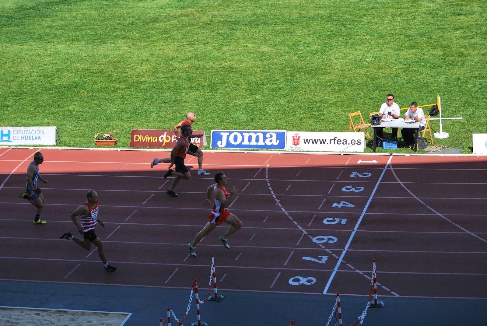 atletismo y algo más: 100 metros M50 Primera Semifinal (21 junio) 17:30
