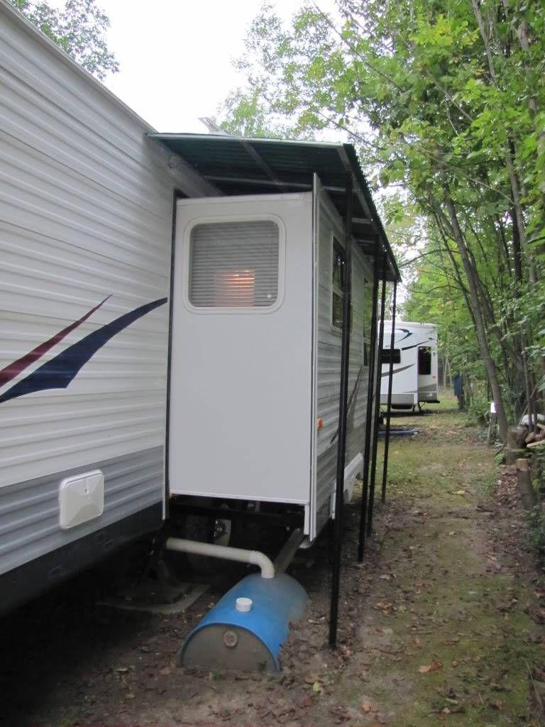 Image Trailer Awning Camping Trailer Trailer Living