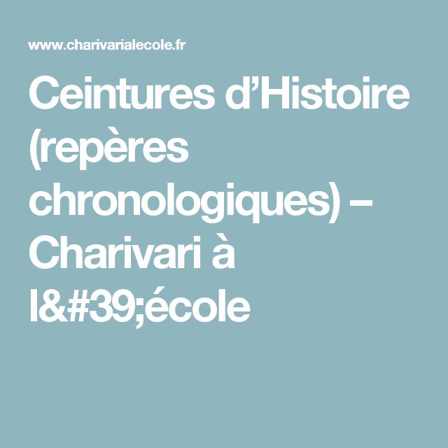 60% de réduction nouvelle version bien pas cher Ceintures d'Histoire (repères chronologiques | CEINTURE ...