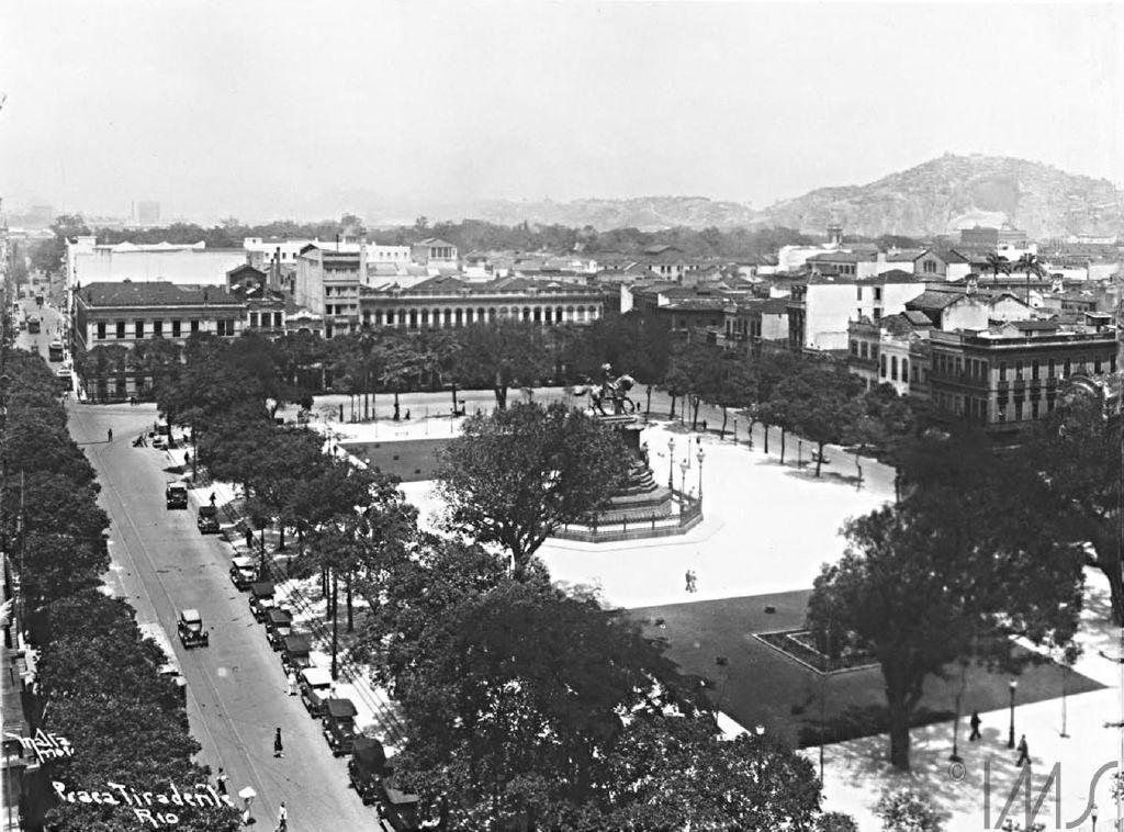 Augusto Malta Praca Tiradentes 1928 Maravilhas Do Mundo
