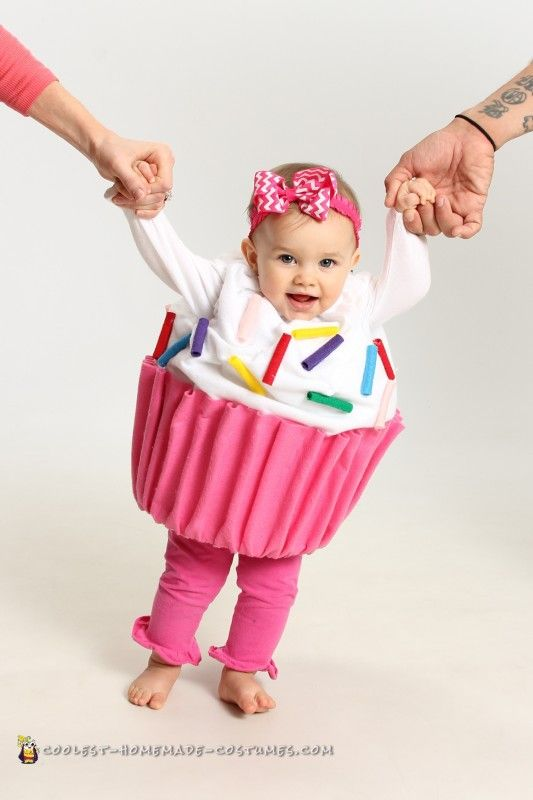Adorable baby cupcake costume made in 14 hours cupcake costume homemade costumes adorable baby cupcake costume solutioingenieria Images