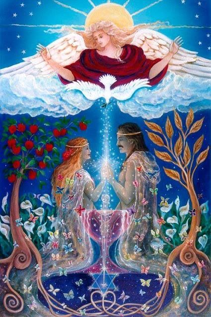 The God & Goddess Essence of the One Soul   known as Twin Flames