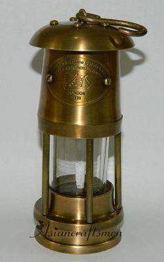 miners lamp centerpiece - Google Search | Wedding Decor ...