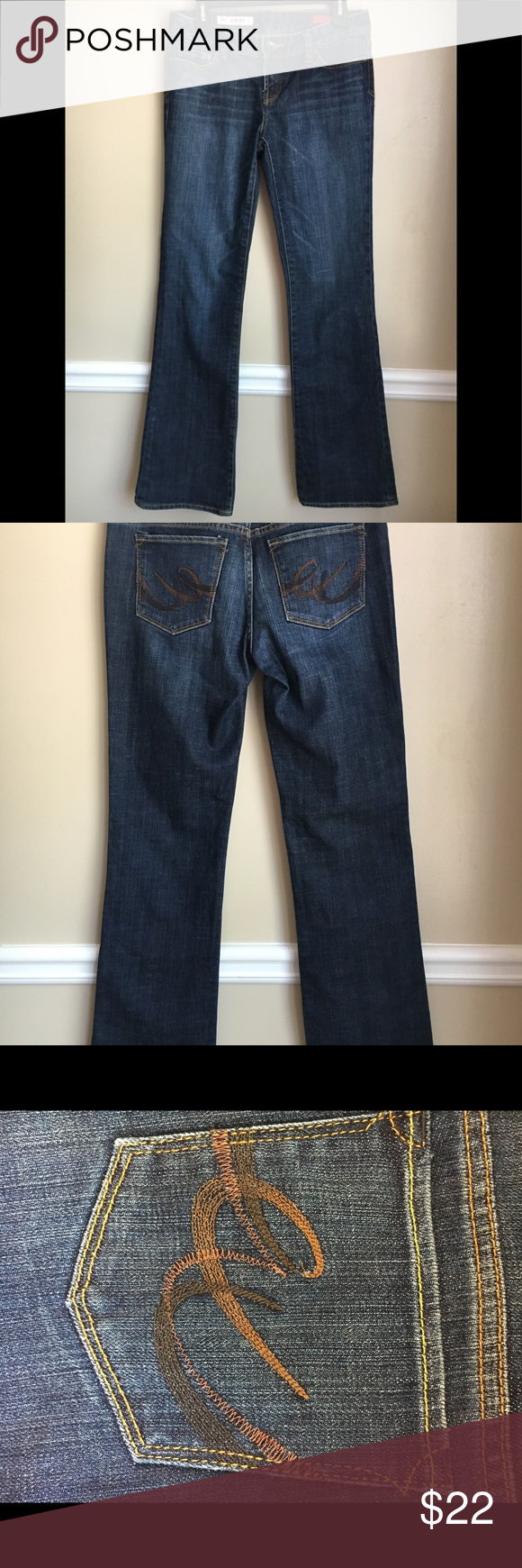 Express X2 jeans X2 Express jeans size 6 long. Slim. Low Rise. Bootcut. In great condition. X2 Express Jeans Boot Cut
