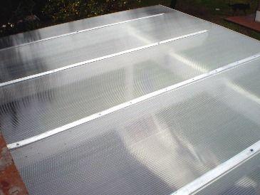 Techo policarbonato de techista zinguero patio techos - Suelo de policarbonato ...
