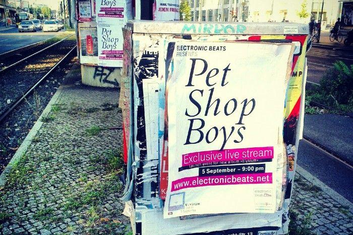 Pet Shop Boys Live Berlin Poster Pet Shop Boys Pets Electronic Music