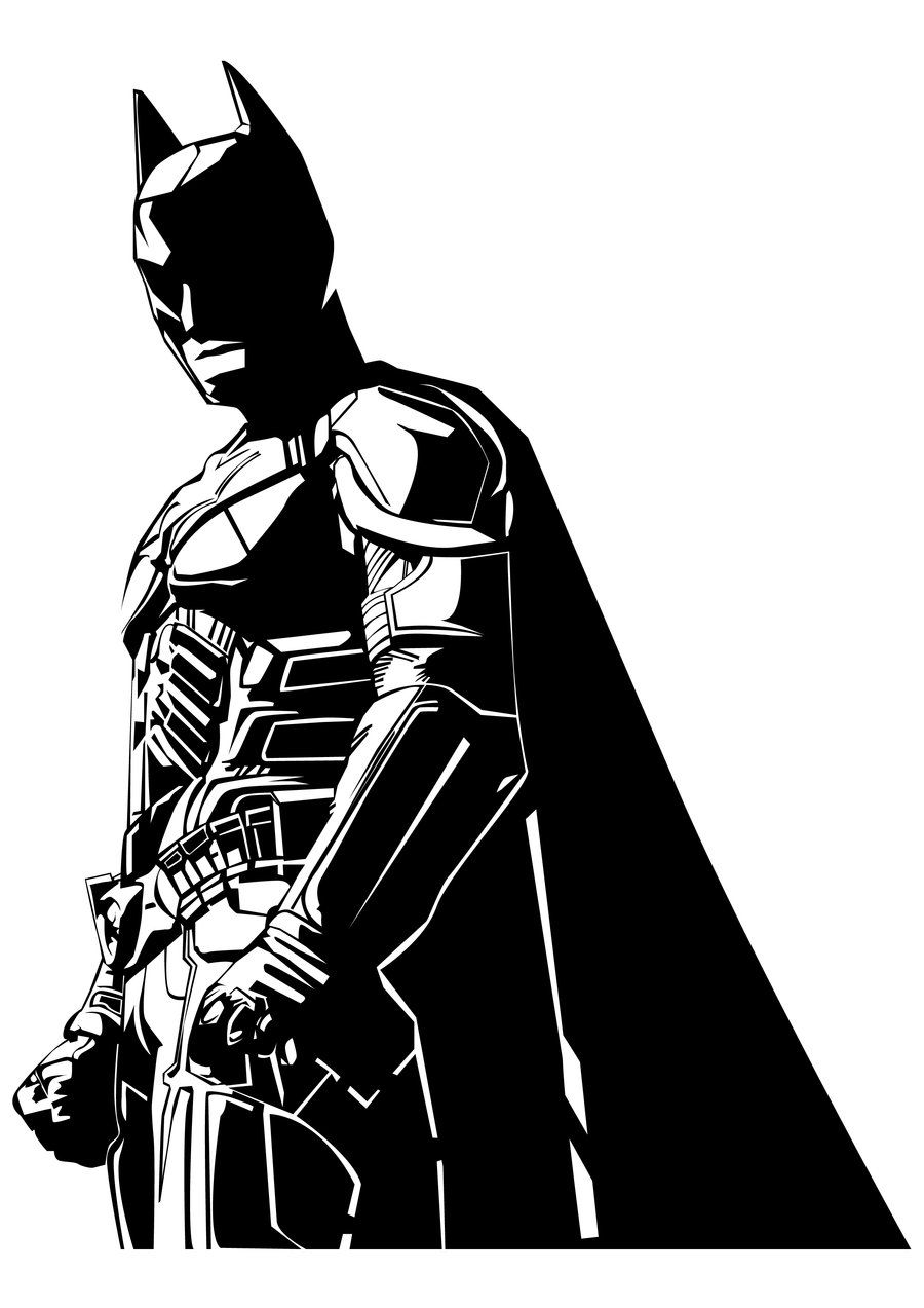 Bike stickers design joker - Batman