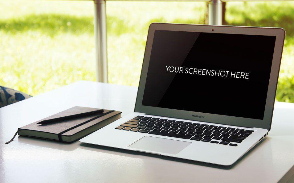 MacBook Air MockUp | Freebies & Mockups | Pinterest | More Mockup ...