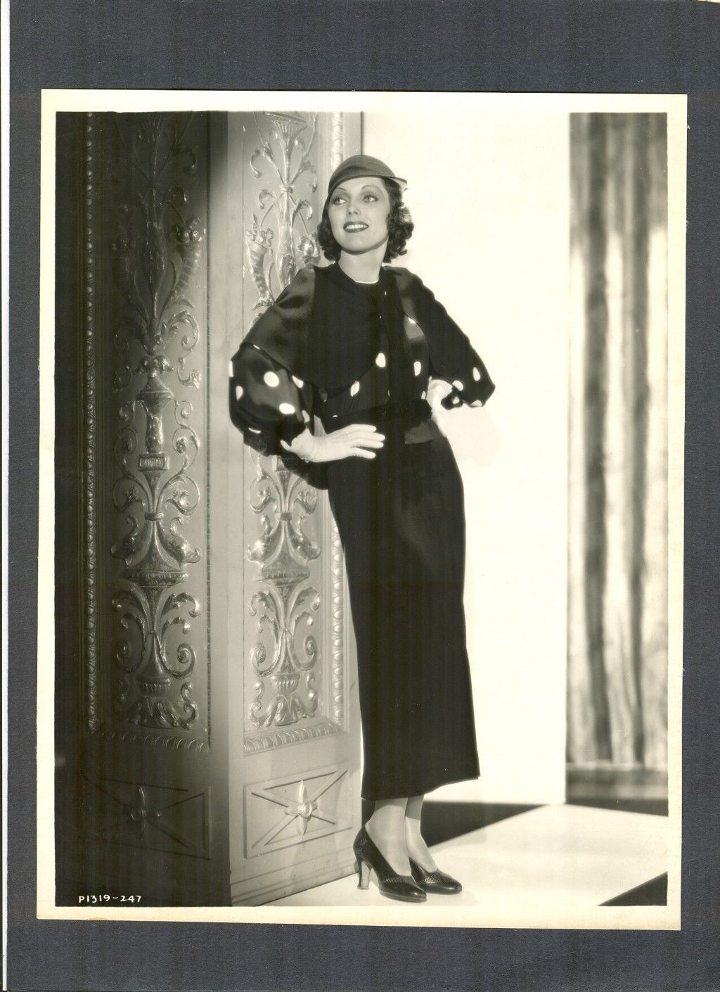 Gorgeous Adrienne Ames 1930s Glamor Fashion Photo N Mint Cond Linen Backed | eBay(125)