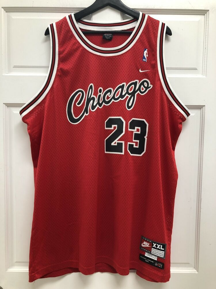 innovative design 1e1a2 80650 Nike Chicago Bulls Michael Jordan Jersey XXL | eBay | 80s ...