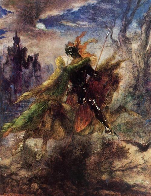 Léonore – Gustave Moreau -1885